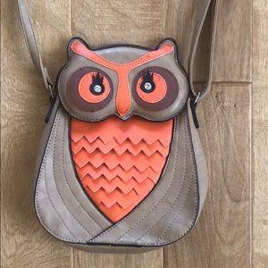 Cute Owl Messenger Bag Purse